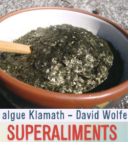 algue klamath super nutritif
