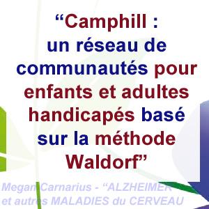 Camphill - approche pour Alzheimer
