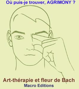Agrimomy fleur de Bach - visage - nez