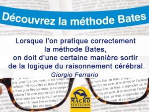 appliquer la méthode Bates pour la vue