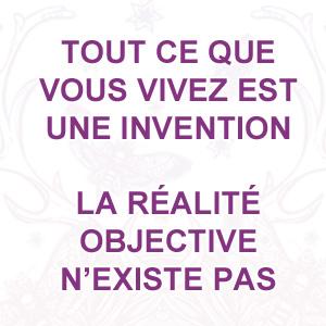 il n'existe pas de réalité objective