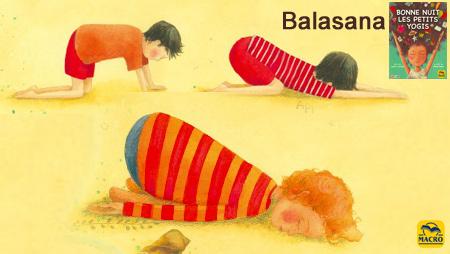 Balasana pour enfant