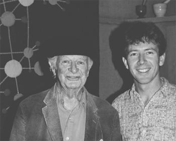 dr Linus Pauling et l'auteur Patrick Holford