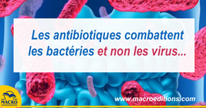 antibiotique et virus