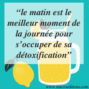 eau citron le matin, c'est top pour la santé