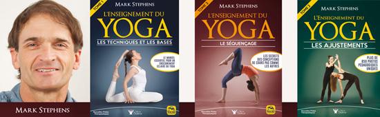 livre pour professeur de yoga - Mark stephens