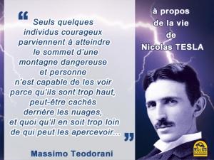 Nikola Tesla chercheur courageux oublié