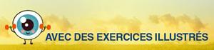 exercice pour la gymnastique yoga des yeux