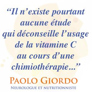 La vitamine C un allié de votre chimiothérapie