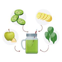 livre de recette de smoothies verts detox