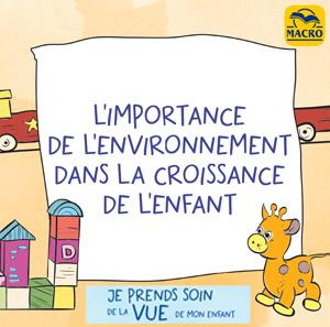l'importance de l'environnement dans la croissance de l'enfant