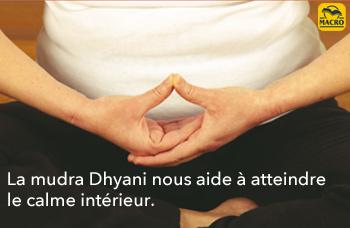 mudras des mains dhyani per le calme intérieur