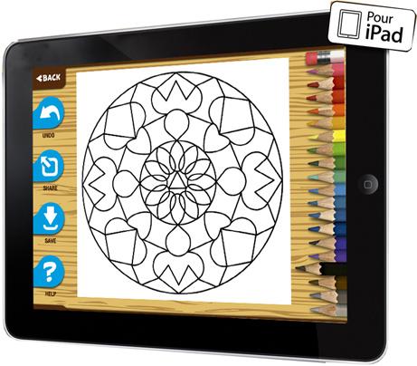 App Coloriages De Mandalas