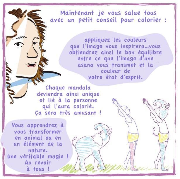 Lucia Zacchi nous parle des mandalas du yoga - conseil