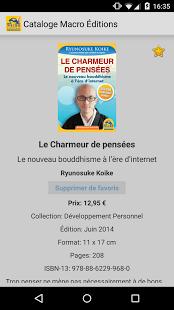 anteprima app macro editions fiche livre