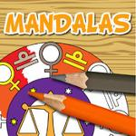 coloring mandala - signes du zodiaque