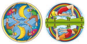 coloriage et yoga - cahier de coloriage