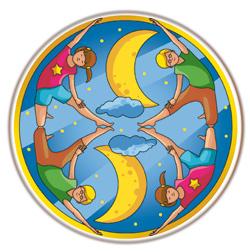 mandalas yoga coloriage