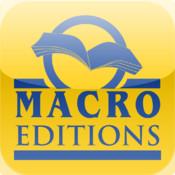 APP appli application catalogue macro editions